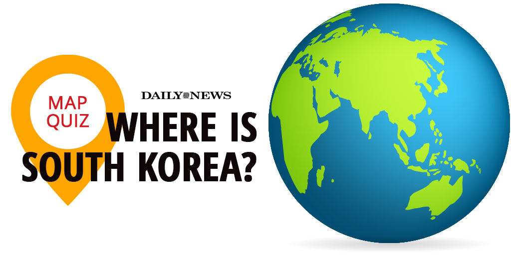The share image for the South Korea map quiz
